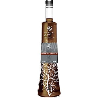 ZEN COLLECTION Licor de crema de chocolate y cerezas Botella 50 cl