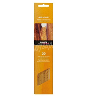 Roura Varilla perfumada sandalo Caja de 20 unidades