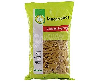 Productos Económicos Alcampo Pasta de Trigo Macarrones 500g