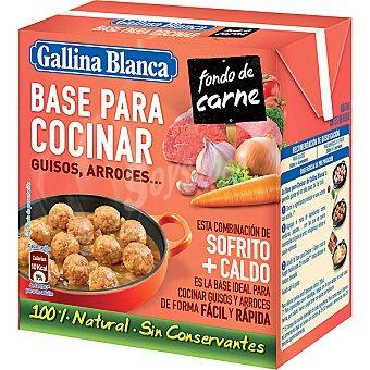 Gallina Blanca Brik para cocinar fondo de carne 500 ml