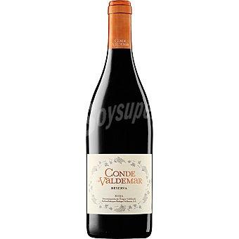 Conde de Valdemar Vino tinto reserva D.O. Rioja Botella 75 cl