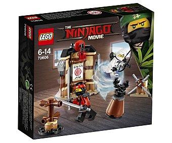 LEGO Ninjago Juego de construcciones con 109 piezas Área de entrenamiento de Spinjitzu, Ninjago 70606 lego