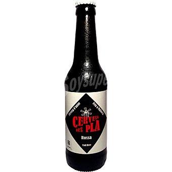 Des pla Rossa cerveza tipo Premium Bitter botella 33 cl Botella 33 cl