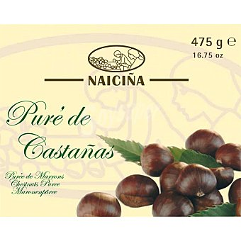 NAICIÑA Puré de castañas Bandeja 475 g