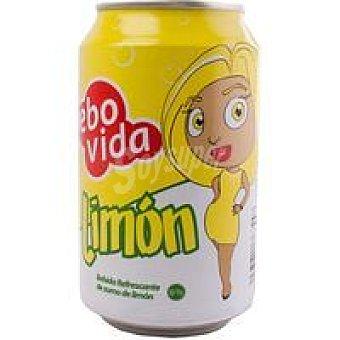 Bebovida Refresco de limón 6% zumo lata 33 cl