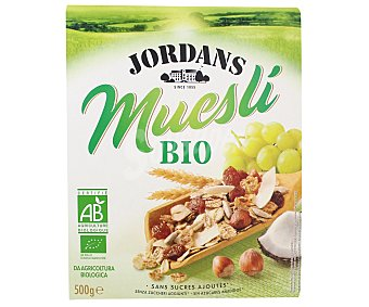 Jordans Muesli bio con frutas y frutos secos Paquete de 500 g