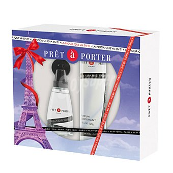 Pret a Porter Estuche colonia spray 50 ml + desodorante 75 ml Colonia 50 ml + Desodorante 75 ml
