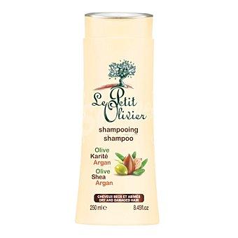 Le Petit Olivier Champú de aceite oliva, argán y manteca para cabello seco y dañado 250 ml