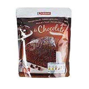 Eroski Masa para bizcocho de chocolate Sobre 550 g
