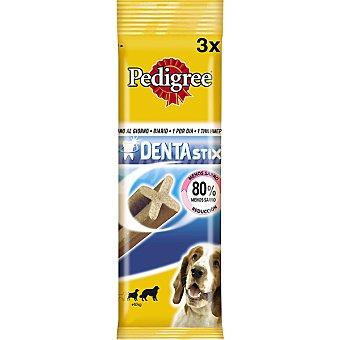 PEDIGREE DENTASTIX Para perros de razas medianas estuche 3 unidades Estuche 3 unidades