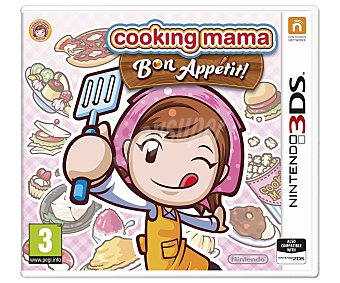 MINIJUEGOS Cooking mama5: Bon...3Ds