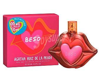 Ágatha Ruiz de la Prada Eau toilette mujer Beso Botella 50 cc