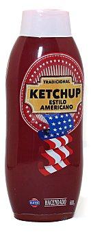 Hacendado Ketchup estilo americano Bote 600 g