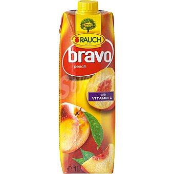 RAUCH Bravo Néctar de melocotón con Vitamina C Envase 1 l