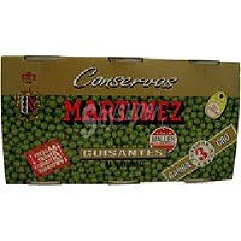 Martinez Guisante B/Oro 3x95 gramos