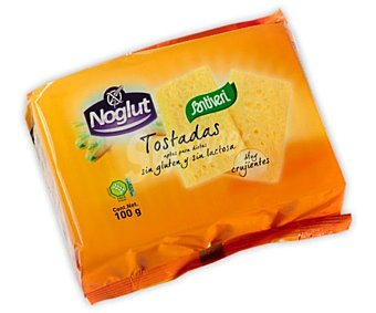 Santiveri Tostadas ligeras Paquete de 100 g