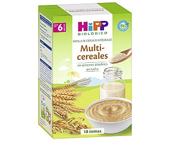HiPP Biológico Papilla multicereales biológico Caja 400 gr