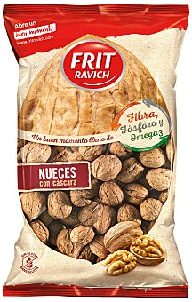 Frit Ravich Nueces con cáscara 500 gr