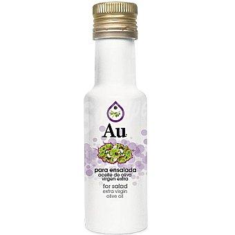 AU aceite de oliva virgen extra aromático para ensalada  botella 125 ml