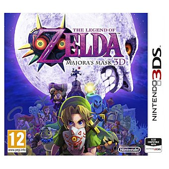 Nintendo Videojuego The Legend Of Zelda: majora's Mask para 3DS