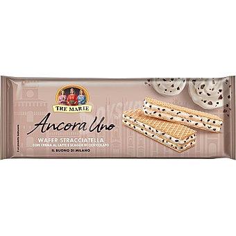 Ancora TRE marie Uno galletas de barquillo rellenas de crema de stracciatella Paquete 140 g