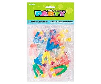 Party Relleno para piñatas, 12 trepadores de plástico de colores 12 unidades