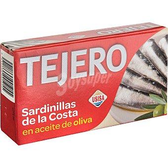 TEJERO Sardinillas de la costa en aceite de oliva lata 60 g neto escurrido