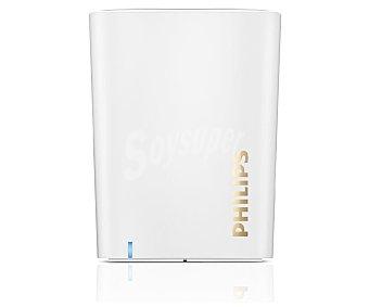 PHILIPS BT100W Mini altavoz por batería, inalámbrico, función Bluetooth, conector 3,5(mm), 2W de potencia, color blanco