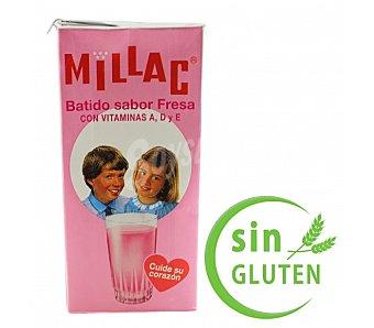Millac Batido fresa 1 l