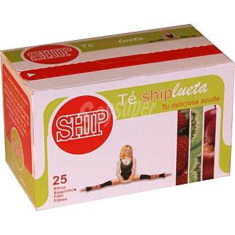 SHIP té verde y rojo con frutas Estuche 25 unidades