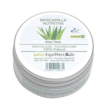 Equimercado Mascarilla nutritiva de Aloe Vera ecológica 75 ml