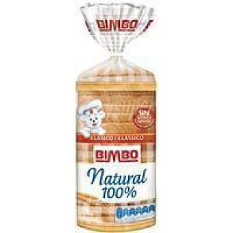 Bimbo Pan de molde natural 100% Paquete 460 g + 20%
