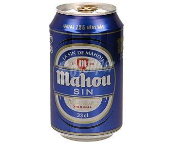 Mahou Cerveza sin alcohol  12 latas x 33 cl