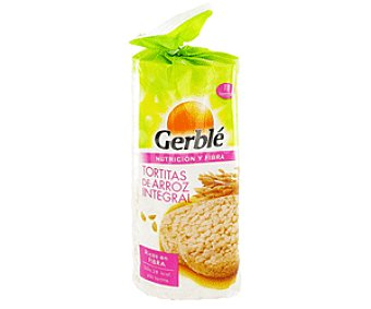 Gerble Tortitas de Arroz Integral 108g