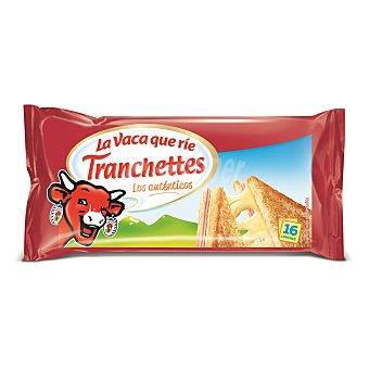 TRANCHETTES Queso fundido en lonchas paquete 300 g (16 lonchas)