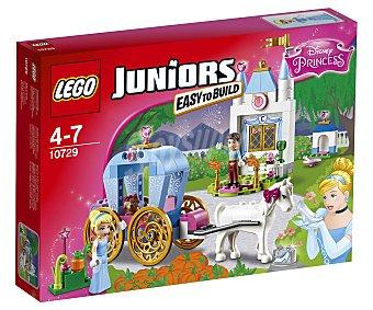 LEGO Juego de construcciones con 116 piezas Carruaje de Cenicienta, 10729, incluye 2 figuras Juniors Disney Princess 1 unidad