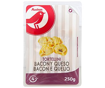 PRODUCTO ALCAMPO Tortellinis frescos al huevo, rellenos de bacon y queso 250 g