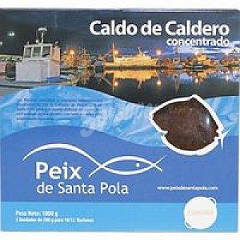 SANTA POLA Caldo de caldero concentrado Pack 2x500 ml
