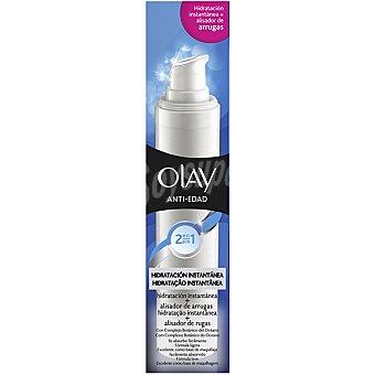 Olay Anti-edad 2 en 1 Hidratación instantánea + alisador instantáneo de arrugas Dosificador 50 ml