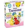 Petit fresa plátano Pouch Pack 4 bolsitas x 70 g Danonino Danone