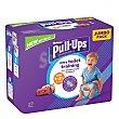 Pañales de aprendizaje niña 1-2,5 años (8-17 kg.) 27 ud 27 ud Huggies Pull-Ups