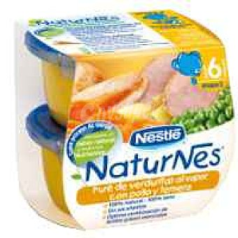Naturnes Nestlé Tarrina de pollo-ternera Tarrina 400 g