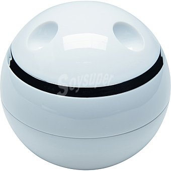 QUO Caja organizadora con tapa en color blanco