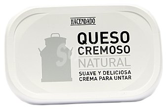 Hacendado Queso untar blanco natural Tarrina 300 g