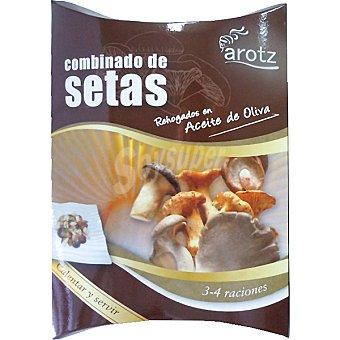 Arotz Combinado de setas rehogados en aceite de oliva calentar y servir Estuche 200 g