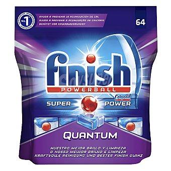 Finish Lavavajillas máquina quantum 64 pastillas