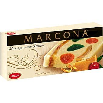Marcona Turrón de mazapán con frutas Caja 300 g