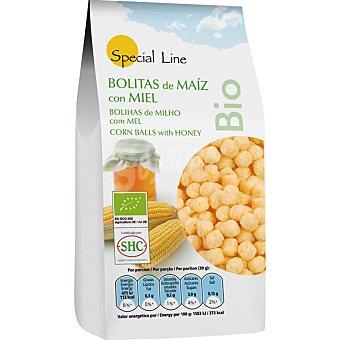 Special Line Bolitas de maíz con miel ecológicas Envase 200 g