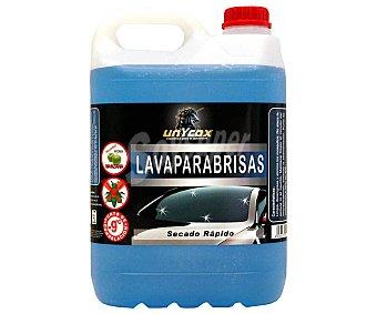 Unycox Lavaparabrisas con repelente de insectos y de agua, secado rápido y fresco olor a manzana verde unycox