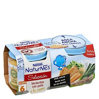 Nestlé Tarrito de verduritas con pollo a la crema 2 unidades de 200 g